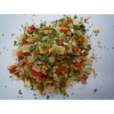 Mixed Dehydrated Vegetables 250 gr