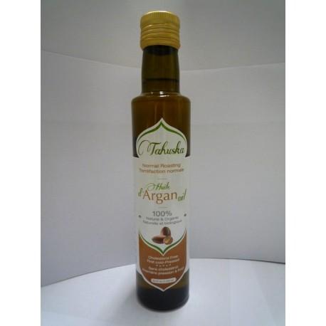 Argan oil food Organic Bottle 250 ml.