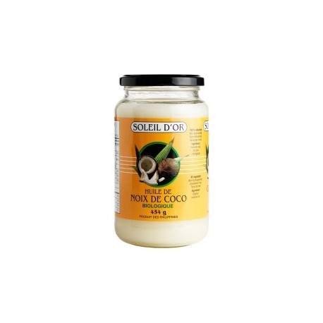 Coconut Oil Soleil d'Or 454g