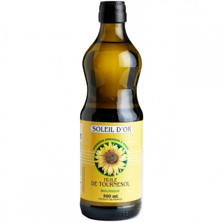 Sunflower Oil Soleil d'Or 500mL