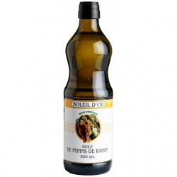 Grapeseed Oil Soleil d'Or 500mL