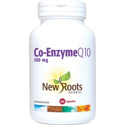 NROOTS co-enzyme Q 10 100 mg 60 capsules