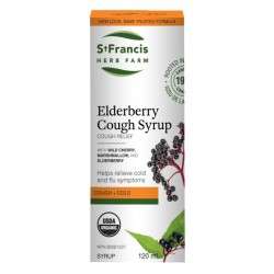 Elderberry cough syrup 120 mL