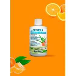 Aloe Vera 500 ml - Drinkable Gel - Orange Tangerine